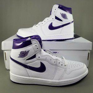 Nike Air Jordan 1 High OG Court Purple Womens 10